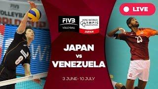 Japan v Venezuela - 2016 Men's World Olympic Qualification Tournament