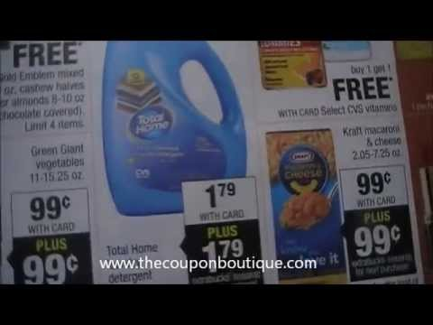 How To Extreme Coupon at CVS - All for Free Without Coupons!