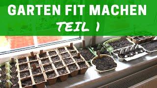 DIY: GARTENVORBEREITUNG |  Teil 1 |  Aussaat + Tipps #Selbstversorgung #Garten #Aussaat | Max Green