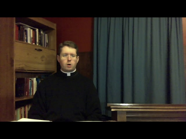 Sermon for the Fifth Sunday in Lent 03/29/20