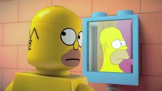 Lego Simsons trailer