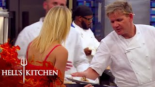 Gordon's Politest Customer Interaction | Hell's Kitchen
