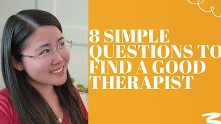 8 Simple Questions To Avoid Therapy Nightmares- Shared by Psychologist