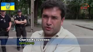 Саксаганский суд. Нетрезвый хулиган напал на правозащитников.