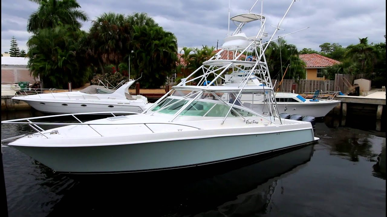 38 Contender Fishing Yacht For Sale REEL PROS YouTube