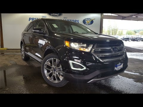 Black  Ford Edge Titanium Awd Review Prince George Bc Prince George Motors