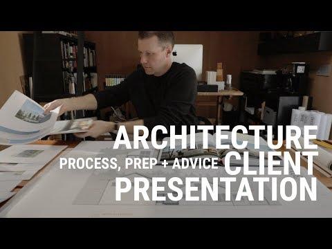 Architecture Client Presentation - YouTube