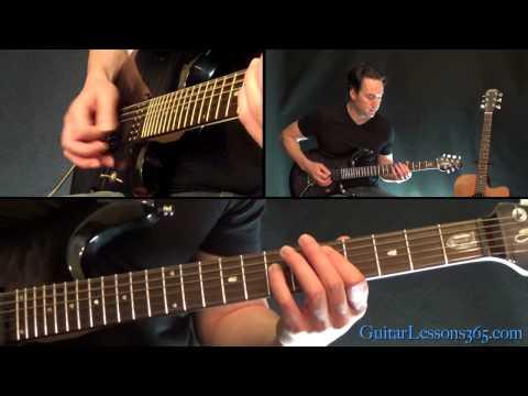 Back In Black Guitar Lesson Pt.1 - AC/DC - All Riffs