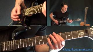 Back In Black Guitar Lesson Pt.1 - AC/DC - All Riffs