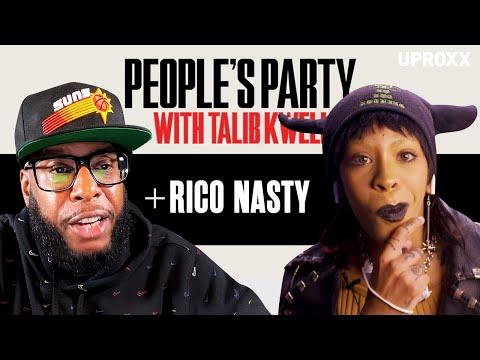 Talib Kweli & Rico Nasty Talk 'Smack A Bitch', Rihanna, Lil Yachty, IDK, DMV | People's Party Full