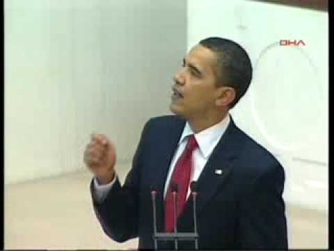 Obama's Speaking Turkish Parliament Part 1