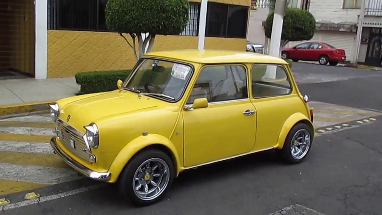 Mini Cooper 1973 Austing Morris Auto Clásico Youtube