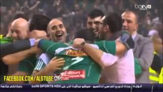 أجواء الفرحة بعد فوز الجزائر على تونس (نهائي كأس أفريقيا لكرة اليد 2014)