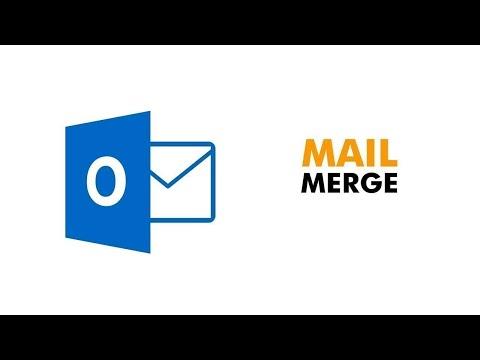 Outlook mail merge tutorial