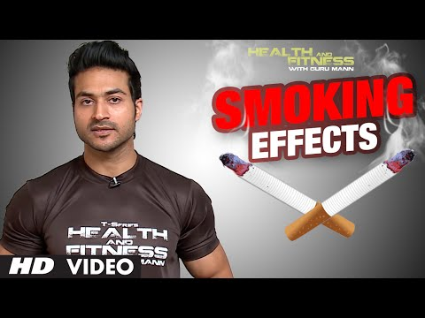 How Does Smoking Affect Your Body   Fat lose & Muscle Building Goals   GuruMann