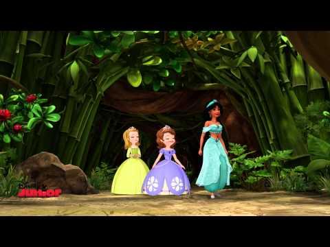Sofia The First - Two To Tangu - Jasmine Episode!