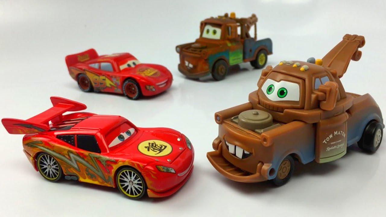 Disney Cars Toys Youtube: Toys Unboxing Toys Disney Pixar Cars Lightning McQueen Car