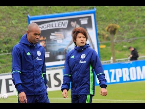 FC Schalke 04 Training 4 May 2017