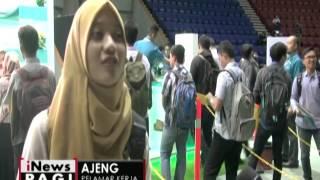 Bursa Lowongan Kerja, PLN Butuh Banyak Tenaga Ahli Kelistrikan - INews Pagi 01/11
