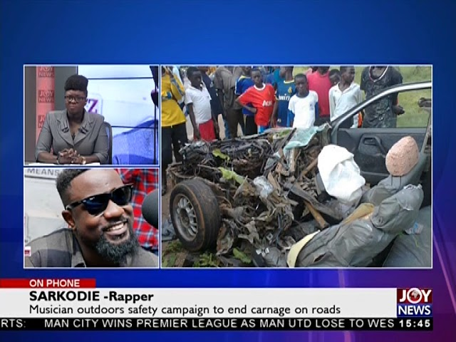 Road Safety Campaign - The Pulse on JoyNews (16-4-18)