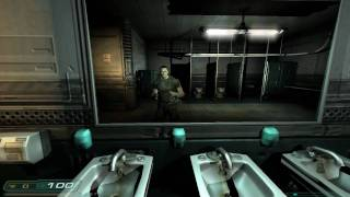 Doom 3 Walkthrough Part 1 HD - Level 1, Mars City