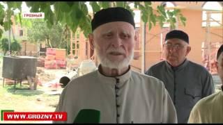 В Октябрьском районе Грозного ведется строительство новой мечети