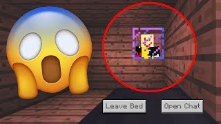 Never SLEEP in Minecraft if this happens.. (SCARY)
