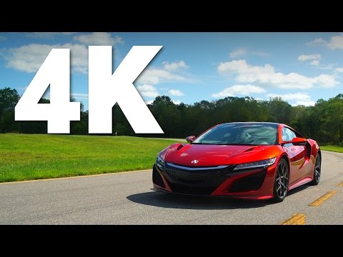 4K Review: 2017 Acura NSX Quick Drive | Consumer Reports