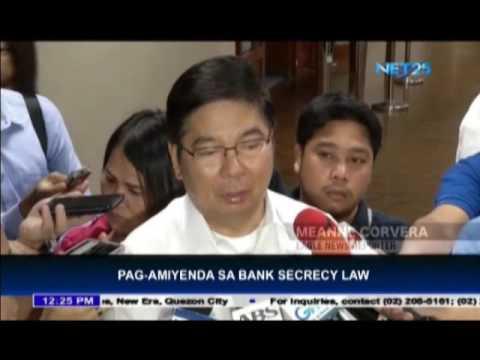 BSP against amendment of bank secrecy law