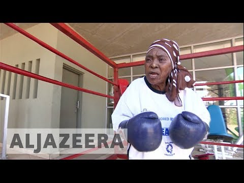 South African boxing grannies fighting to stay fit