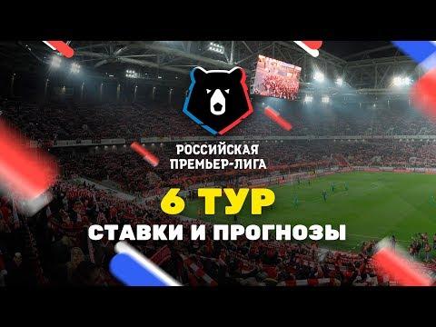 Прогнозы на 6-й тур РПЛ, Чемпионат России по футболу