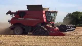 full hd moisson 2016 d orges case ih axial flow 8230 harvest 2016
