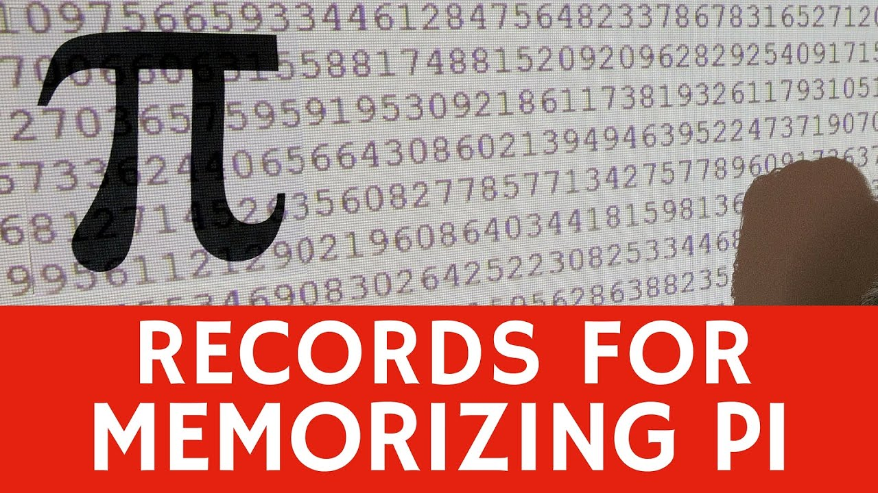 memorizing digits of pi � current amp previous world