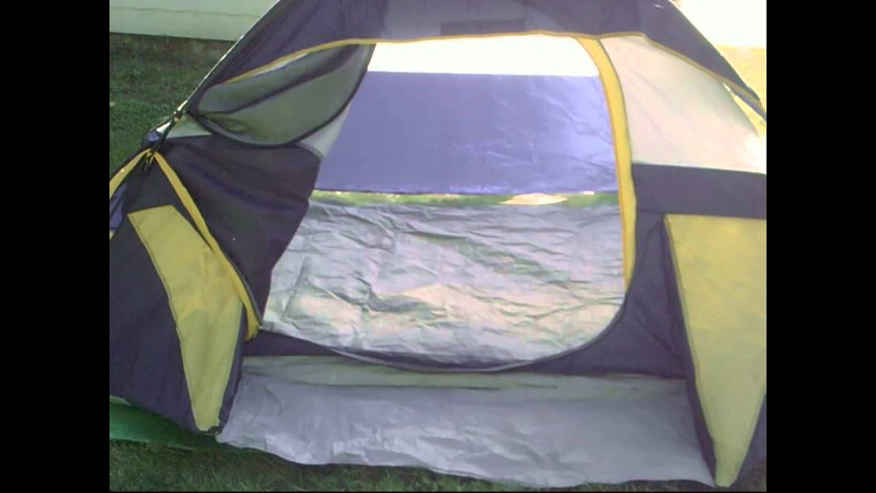 Northwest Territory 2 - 3 Person Tent Review & Northwest Territory 2 - 3 Person Tent Review - YouTube