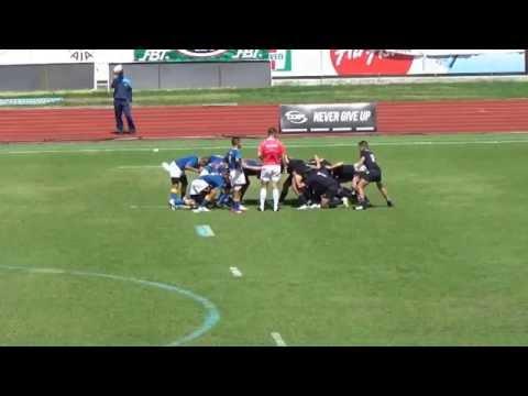Rugby U15 Final ระหว่าง ภปร ราชวิทยาลัย กับ วชิราวุธ วิทยาลัย First Half 06 09 2015