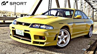 GT SPORT - Nissan R33 Skyline GT-R REVIEW
