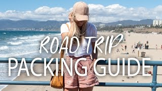 What to Pack for a Summer Road Trip