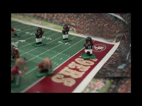 Super Bowl XLVII Highlight: Flacco to Jones with Lego-like OYO Figures