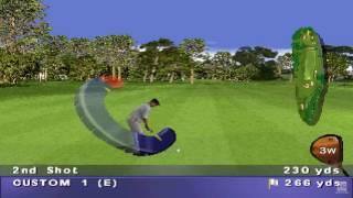 PGA Tour 98 PS1 Gameplay HD