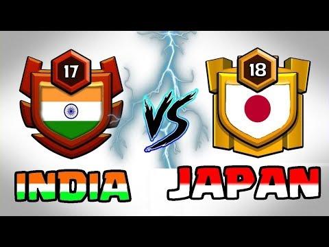 🔥 LIVE   INDIA VS JAPAN 🔥 DEADLY BATTLE    Clash Of Clans LIVE
