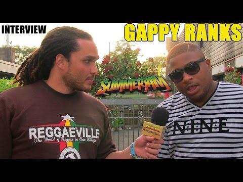Gappy Ranks Interview by Conkarah @SummerJam 2014