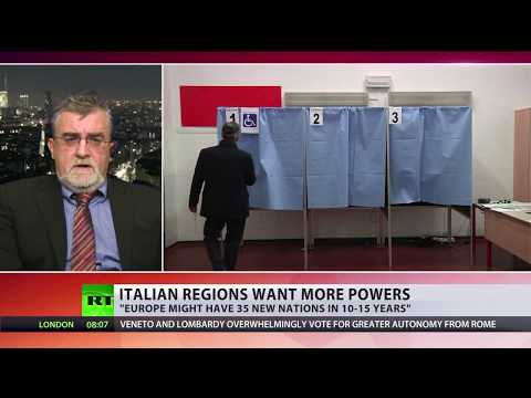 Time for 'Europe of regions?' Italy's 2 richest regions vote in favour of greater autonomy
