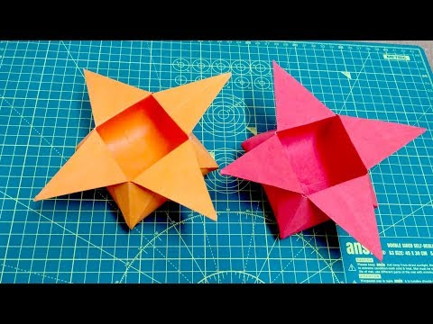 How to make paper jewellery box