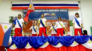 Filipino independence day celebration -the Dance of J.I.L team 2017