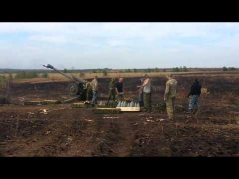 Ополченцы ведут обстрел позиций ВСУ в Луганске
