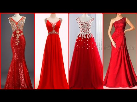 TOP 10 GORGEOUS RED EVENING DRESSES 2020     PROM DRESSES    GOWNS