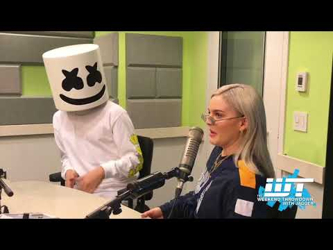 Marshmello & Anne-Marie Talk Friends