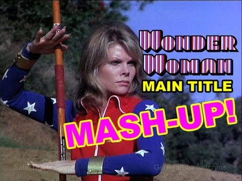 Wonder Woman Cathy Lee Crosby Main Title Mashup