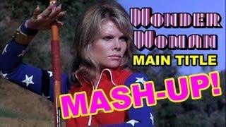 Wonder Woman Cathy Lee Crosby Main Title Mashup
