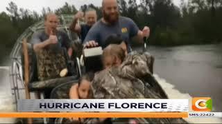 US Hurricane Florence effect #DayBreak
